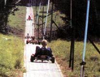 Dráha pro horské motokáry.