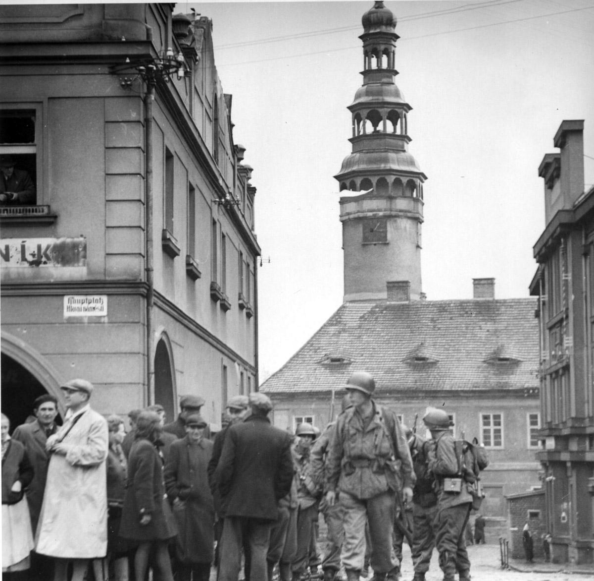 5th May 1945 Domazlice, Czechoslovakia, Europe