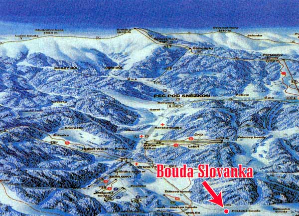 Výsledek obrázku pro bouda slovanka černý důl